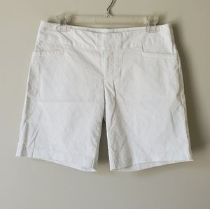 LILLY PULITZER | White Textured Shorts | 2